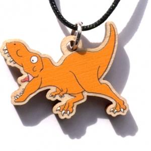 Running T. rex Necklace